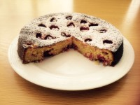 Recipe for Raspberry, Lemon and Polenta Cake Updated