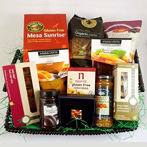 Gift ideas for people with coeliac hampers negle Choice Image
