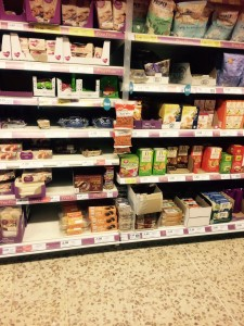 Tescos image of Balti mix in Free From Section