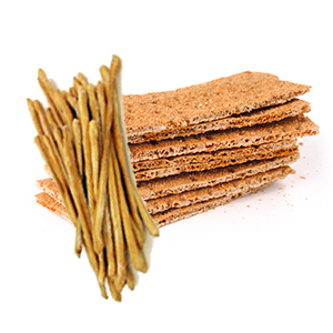 Gluten Free Crispbread and Breadsticks